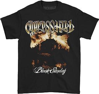 Cypress Hill Men's Black Sunday Album Cover Slim-Fit T-Shirt