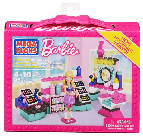 mega bloks barbie Mega Bloks 80279 - Barbie Chiosco Bellezza