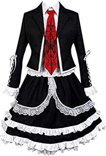 Anime Celestia Ludenberg Cosplay Costume Suit Uniform Halloween