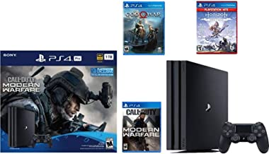 Newest Sony PlayStation 4 Pro 1TB Console Call of Duty: Modern Warfare Bundle W /Game :Horizon Zero Dawn Complete Edition ...