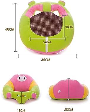 1PC Cartoon Seat Kids Baby Chair Sofa Cute Baby Sofa Cartoon Animal Plush Toy for Baby