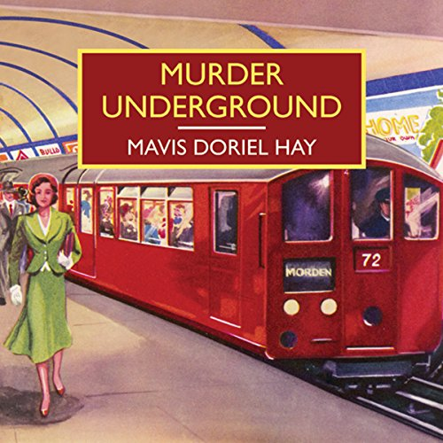 Murder Underground audiobook cover art