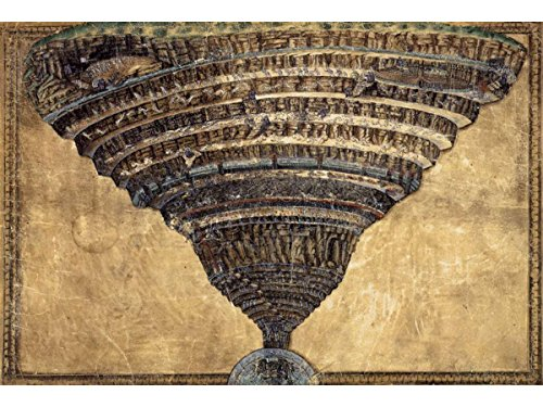 The Abyss of Hell by Sandro Botticelli