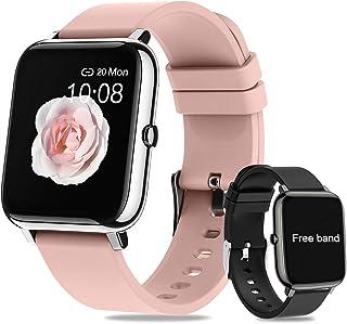 Smartwatch Pulsera Inteligente,Salandens Reloj Deportivo Pantalla Táctil Completa de 1.4 Pulgadas,Pulsera Actividad Imperm...