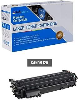Inksters Compatible Black Toner Cartridge Replacement for Canon 120/2617B001AA - Compatible with ImageCLASS D1120 D1150 D1170 D1180 D1320 D1350 D1370