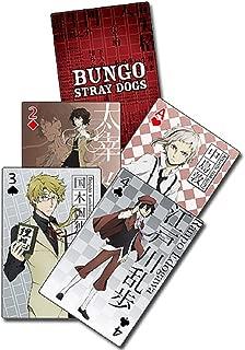 Bungo Stray Dogs Atsushi, Dazai, Doppo, Ranpo Armed Detective Agency Playing Cards