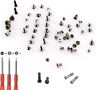 Replacement Screws for iPhone 5, Full Set with Bottom Silver & Black Pentalobe Screws Included