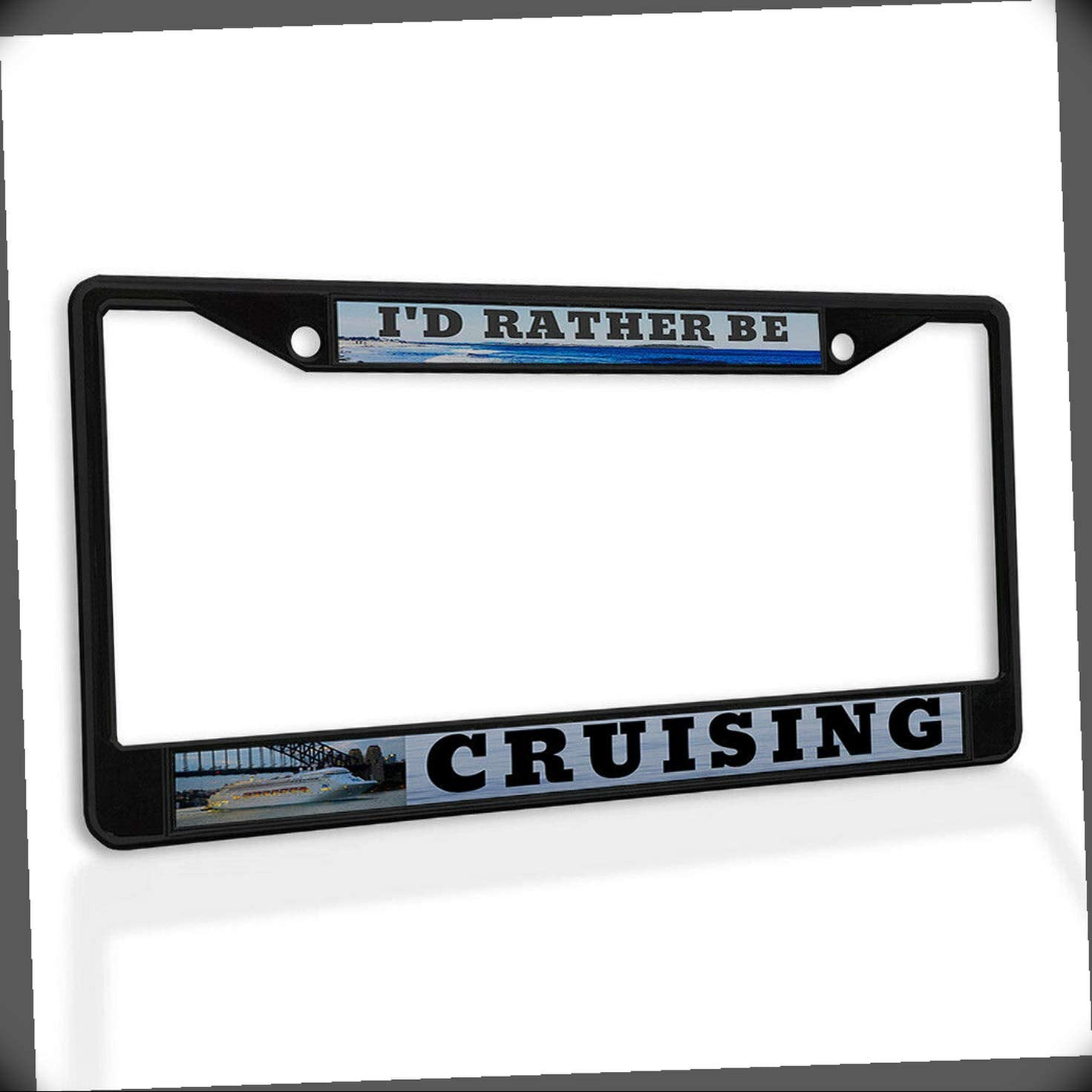 New License Plate Frame I'd Rather Insert Car Ranking TOP20 Be Metal Cruising A surprise price is realized