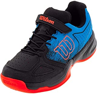 Wilson KAOS K Tennis Shoes, Hawaiian Surf/Black/Fiery Coral, 1
