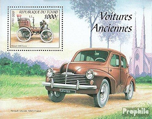 Tchad Block304 (complète.Edition.) 2000 Vieux Automobile (Timbres pour Les collectionneurs) Circulation routière