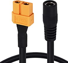 Yeebline XT60 XT-60 Female to Female DC 5.5mm X 2.5mm Jack Power Adapter Cable for FPV Monitor Power Drone Power Cord (XT60 to DC5525)