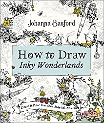 how to draw inky wonderlands by johanna basford 2019