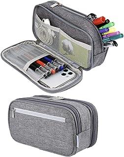 Large Pencil Case Big Capacity Pencil Bag Pouch Pen Case Holder Office Stationery Makeup Bag School Supplies for Middle Hi...