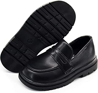 أحذية مسطحة من الجلد الصناعي الناعم للأطفال الأولاد والبنات من BENHERO