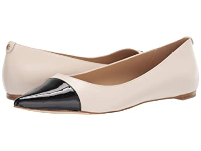 MICHAEL Michael Kors Carissa Toe Cap Flat (Light Cream Multi) Women