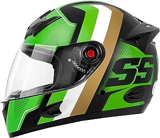 Capacete MIXS MX5 Super Speed 58 Verde/Dourado