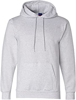 Men's Front Pocket Pullover Hoodie Sweatshirt, XX-Large, Silver