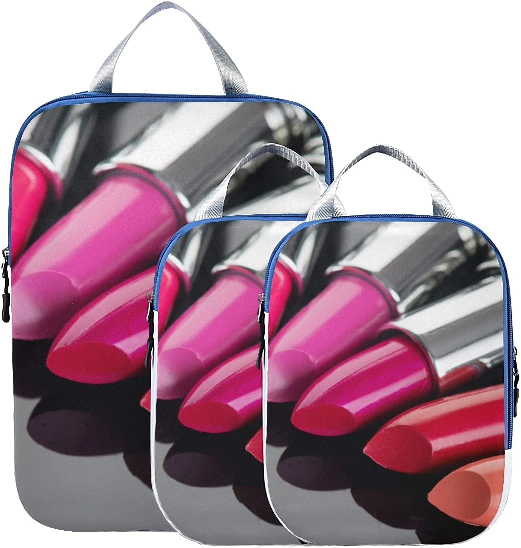 Travel Accessories For Luggage Fashion Max 48% favorite OFF Patch Lips With Lipstick