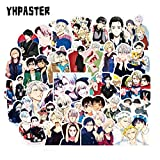 BLOUR 50 Piezas/Set Yuri !!! En Ice Anime Graffiti Pegatinas para Laptop Refrigerador Motocicleta Skateboard Scrapbook Toy Gift Box Sticker