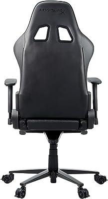 HyperX Blast Jet Black Gaming Chair, Ecopelle, Nero, taglia unica