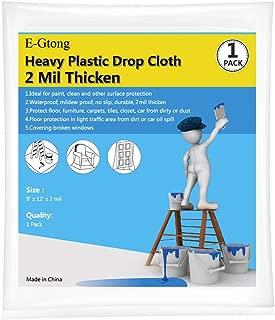 Best plastic drop cloth lowes Reviews