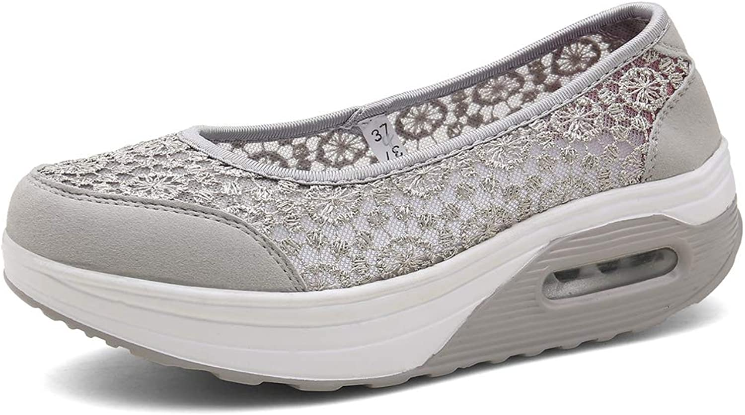 Escort Runners Women's Slip-On Mesh Walking shoes Nurse shoes Casual Moccasin Loafers Driving shoes