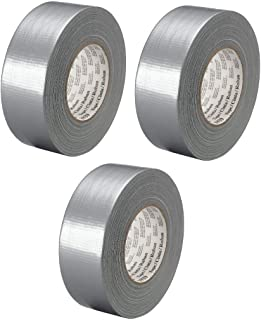 3M Heavy Duty Duct Tape 3939 Silver, 48 mm x 54.8 m 9.0 mil, Conveniently Packaged (Pack of 3)
