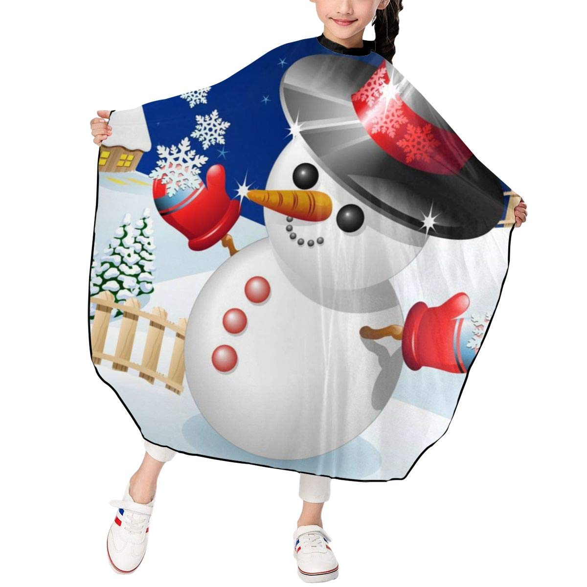Dujiea Kids Barber Capes Polyester Cutting Snow Quality 2021 new inspection Hair Cape Salon