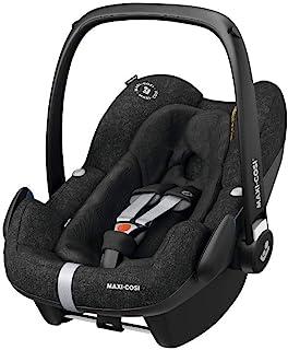 Maxi-Cosi Pebble Plus Babyschale, sicherer Gruppe 0 i-Size Kindersitz 0-13 kg, nutzbar ab der Geburt bis ca. 12 Monate, passend für FamilyFix Two Basisstation, nomad black