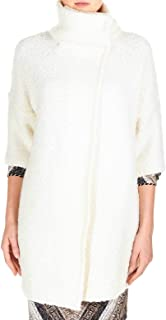 LIU JO Luxury Fashion Womens M69221MA91I10606 White Coat | Fall Winter 19