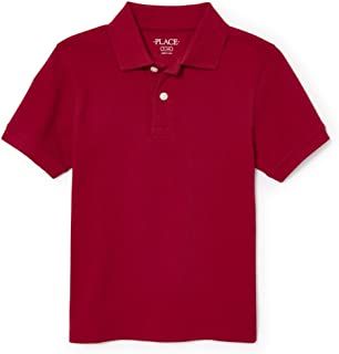 The Children's Place Boys' Short Sleeve Uniform Polo