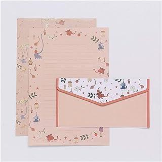 9 pcs/lot Postcard Letter Stationery Paper Envelope Vintage Envelopes for Invitations Small Gifts Mini writing cute envelo...