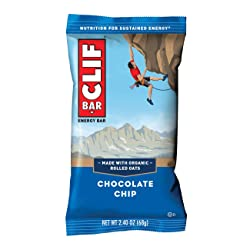 CLIF BAR - Energy Bar - Chocolate Chip, 1 Count