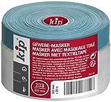 Kip Tape 233-54 Gewebe-Masker – Abdeckfolie mit Gewebeband Klebestreifen zum Streichen & Lackieren...