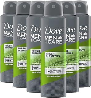 Dove Men+Care Fresh Elements Deospray, anti-transpirant, 6 stuks (6 x 150 ml)