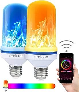 Best dilisens 4 modes led flame effect fire light bulb Reviews