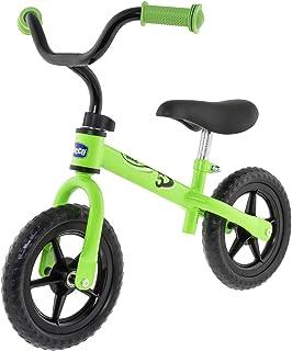 Chicco Första cykel – pedalfri cykel för barn i åldern 3 till 5 år med justerbar sadel 25 kg