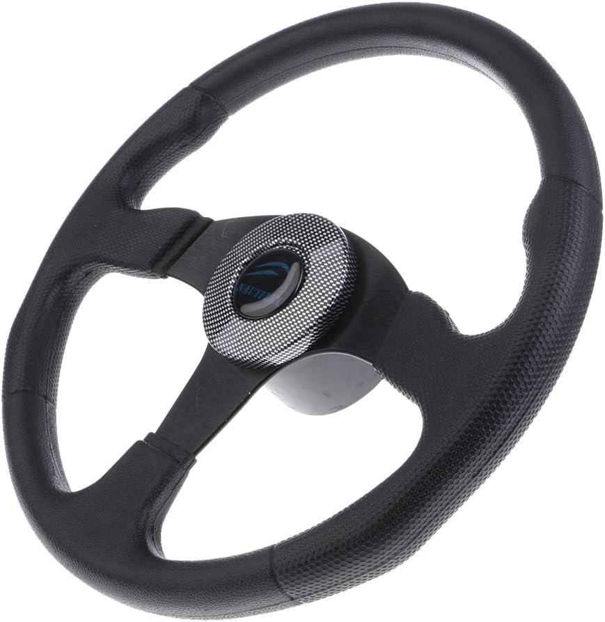 SDENSHI 1 year warranty Boat Steering Wheel Aluminum 13.4