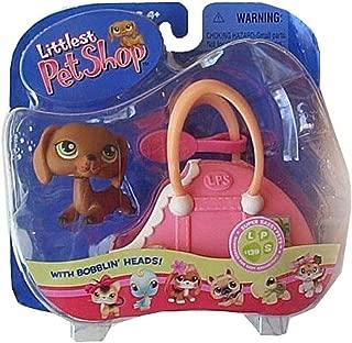 Littlest Pet Shop Super Sassy Pets 139 Dachshund with Suitcase