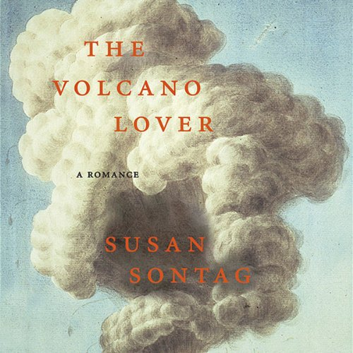 The Volcano Lover audiobook cover art