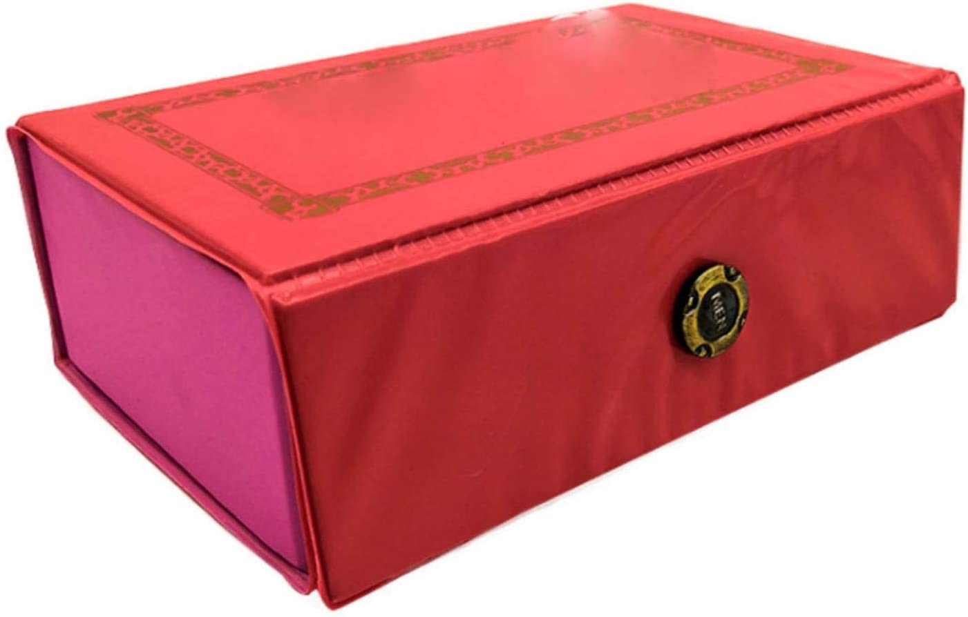N\C Exquisite Leather Box Pocket Mahjong Mini OFFer Tr Portable Travel Ranking TOP2