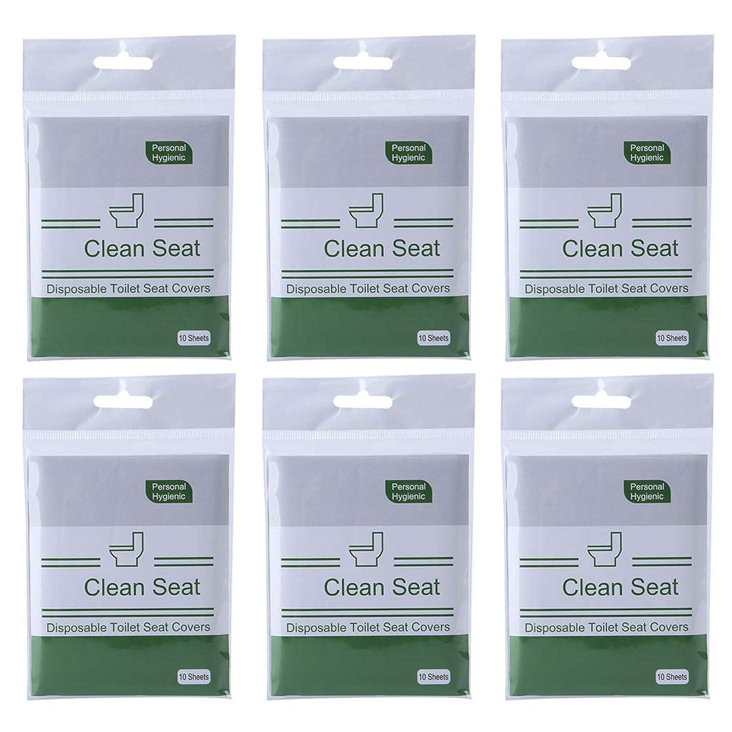 一般化する解放するセグメントDaeum使い捨て水洗トイレシートカバーマット旅行生分解性衛生パッド