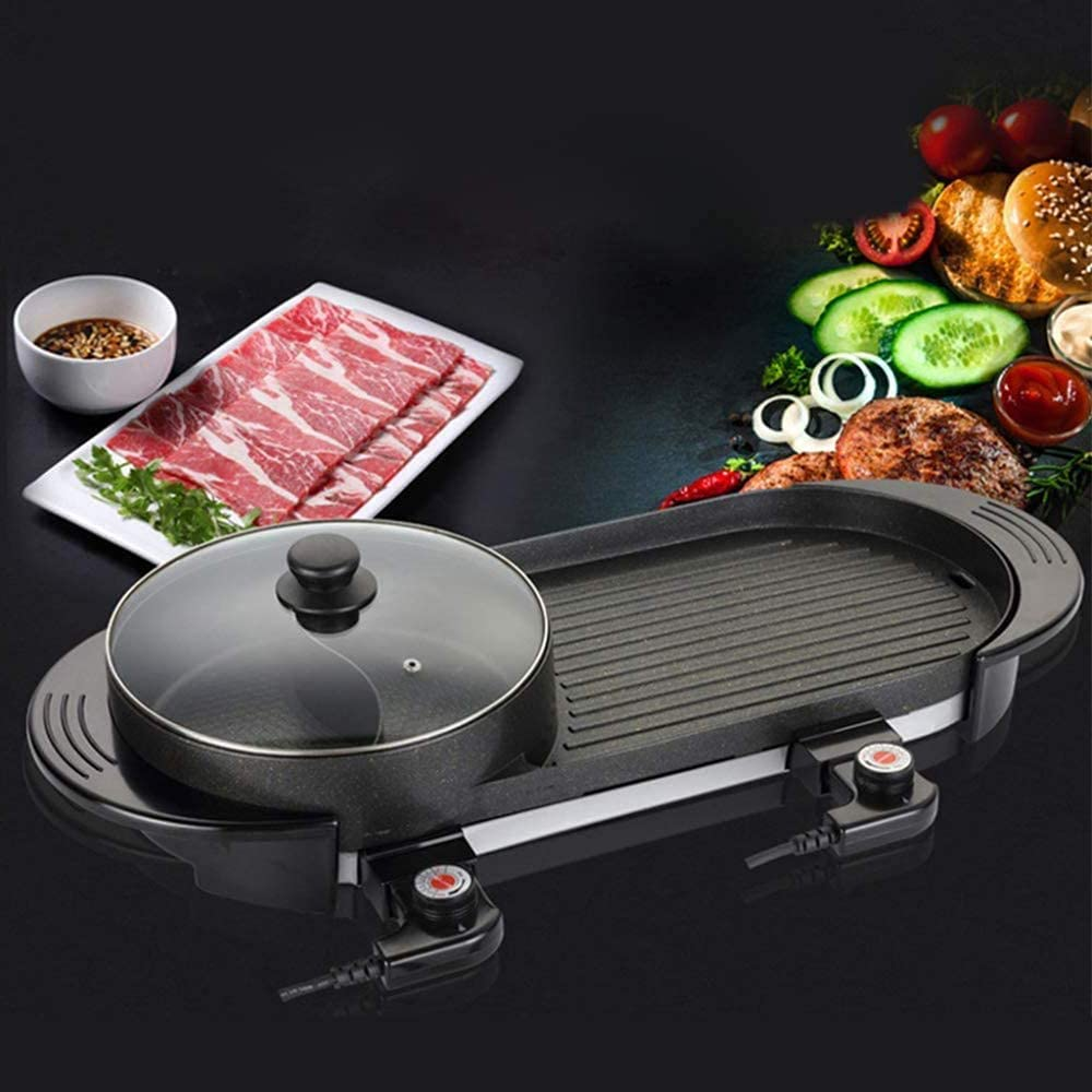 WFY Indoor Camping Grill Electric Hot Tampa Mall Miami Mall Pot Barbecue