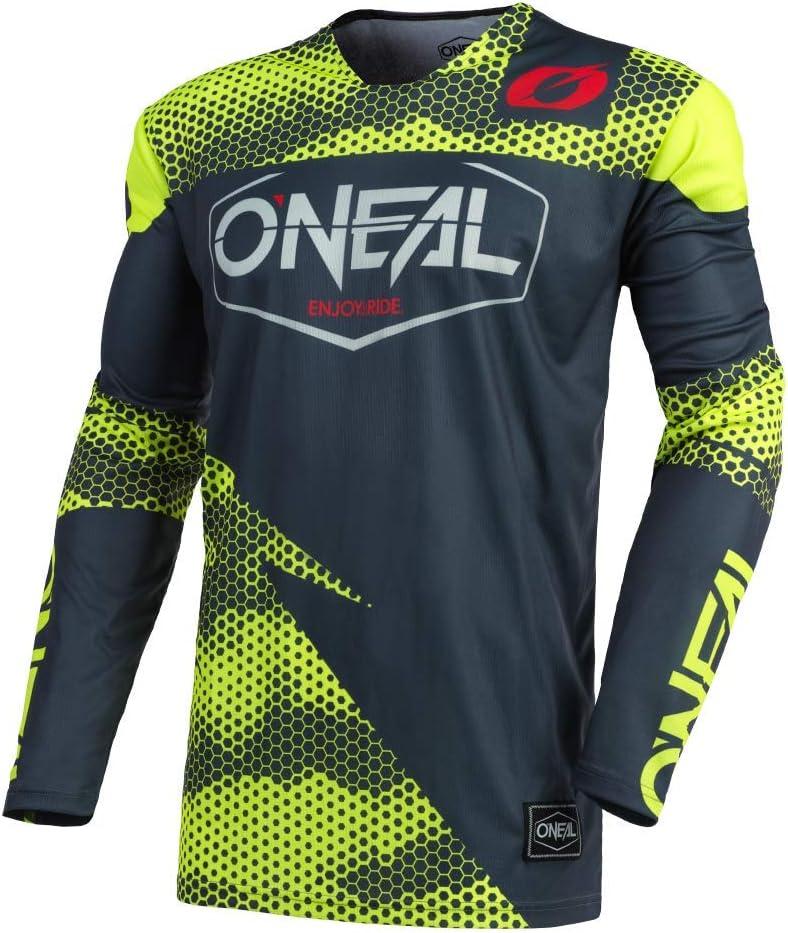 Element Jersey racewear Black Yellow 0008 18 o /'neal