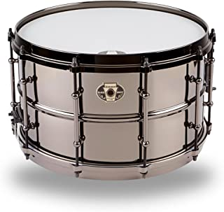 Ludwig Black Magic Snare Drum - 8 Inches X 14 Inches