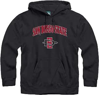 Ivysport Hooded Color Sweatshirt, Legacy Logo, NCAA Colleges and Universities