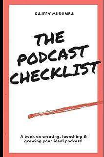 چک لیست پادکست: کتابی در زمینه ایجاد ، راه اندازی