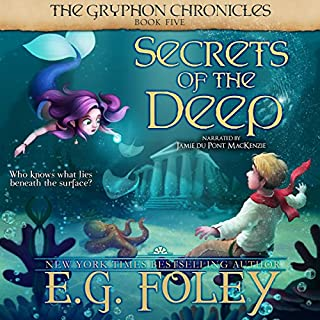 Secrets of the Deep audiobook cover art