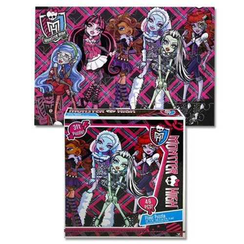 Monster High Floor Puzzle [46 Pieces]