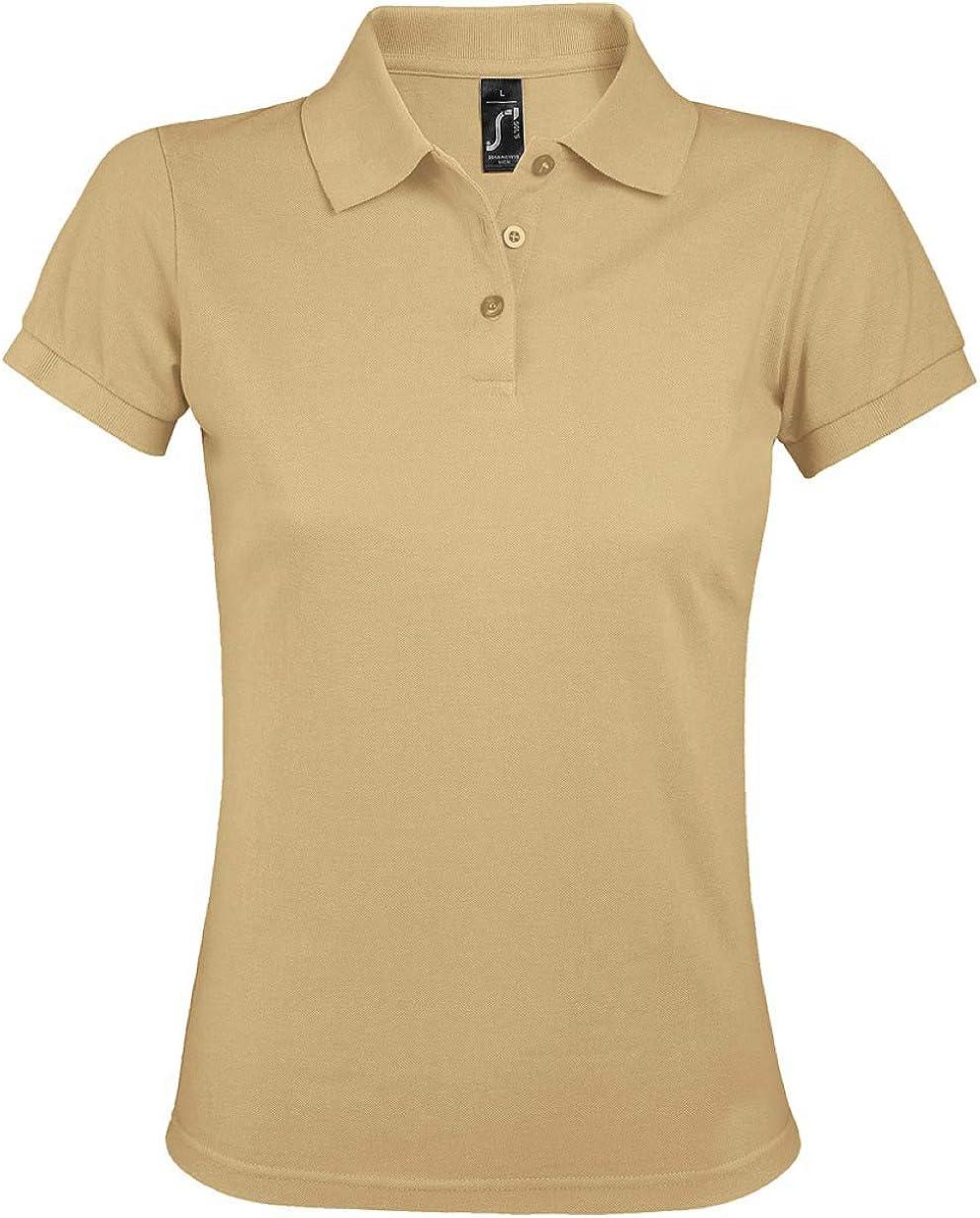 SOL'S Womens Prime Poly/Cotton Pique Polo Shirt